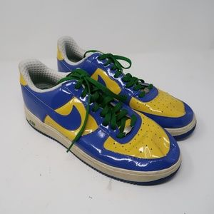 Nike Air Force One Premium Brazil World Cup Shoes